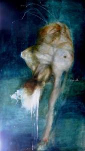 """Figura acqua marina""  cm 70x123"
